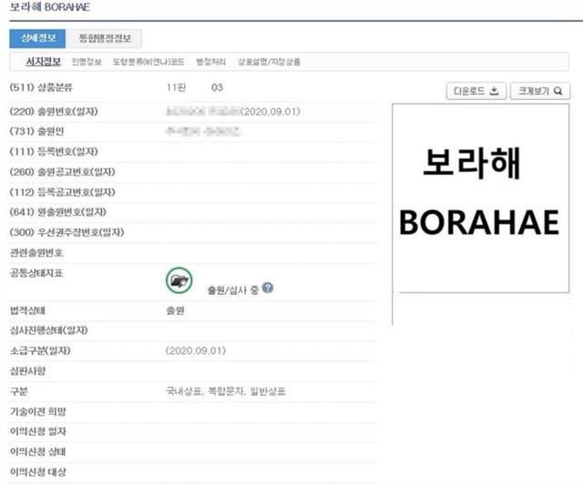 Borahae被韩国公司注册为商标!