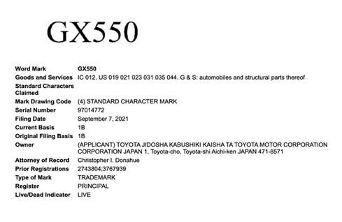 丰田海外注册GX550商标,怎么注册国外商标?