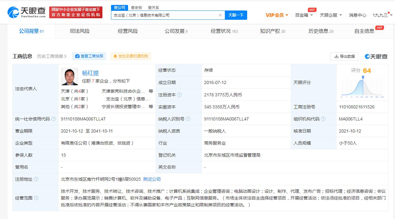 小米、蚂蚁集团关联公司入股支出宝,SaaS商标申请类别怎么选?
